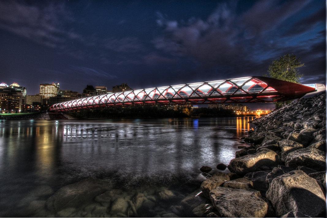 Peace Bridge Clagary