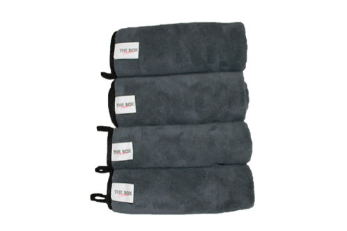 Heavy duty microfiber towel bundle