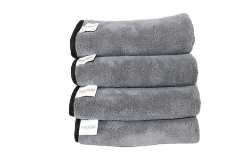 Heavy duty microfiber towel bundle