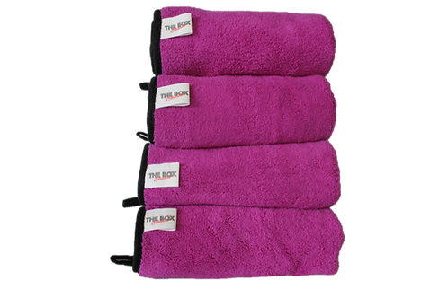 Light duty microfiber towel bundle