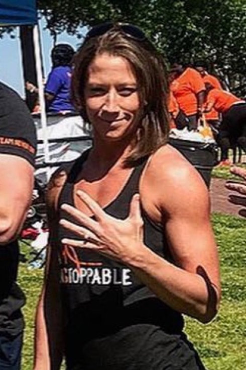 Unstoppable MS Racerback Tank top