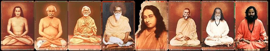Maestros de Kriya Yoga