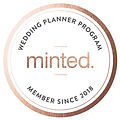 Minted wedding planner