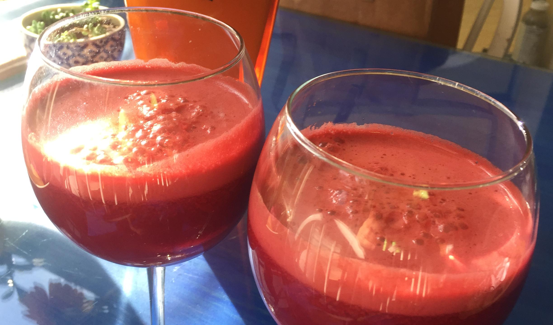 Fresh Beet & Veggie Juice