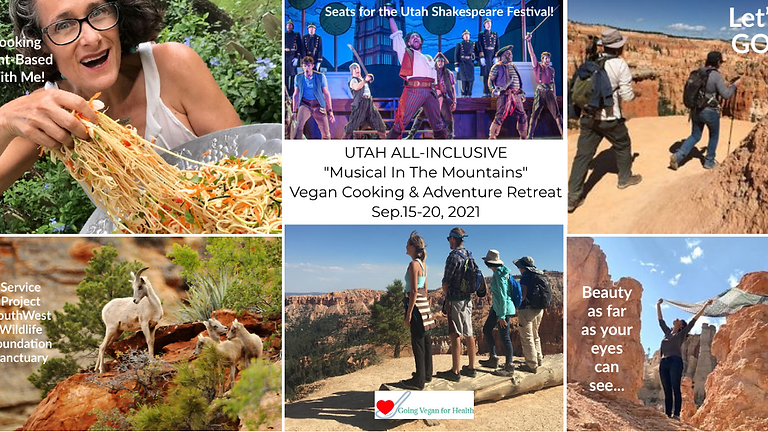Music in the Mountains Vegan Cooking & Adventure Retreat