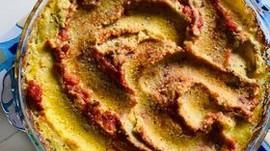 Baked Polenta Pie