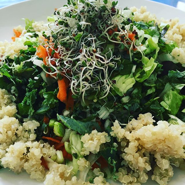 No more puny salads! How to make a big vegan chopped salad that's a meal