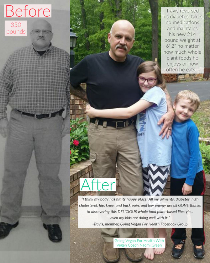 Bigt Moose's Vegan Health Success Story: Taking back his health in every way