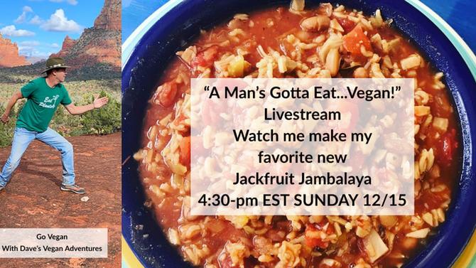Vegan Dave's Jackfruit Jambalaya Pot