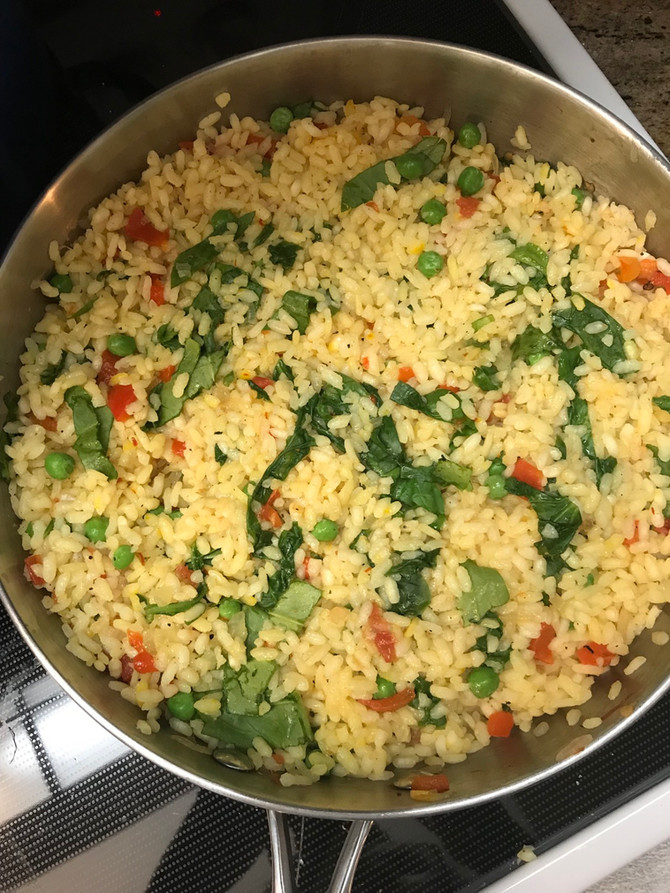 Easy Peasy Saffron Yellow Rice