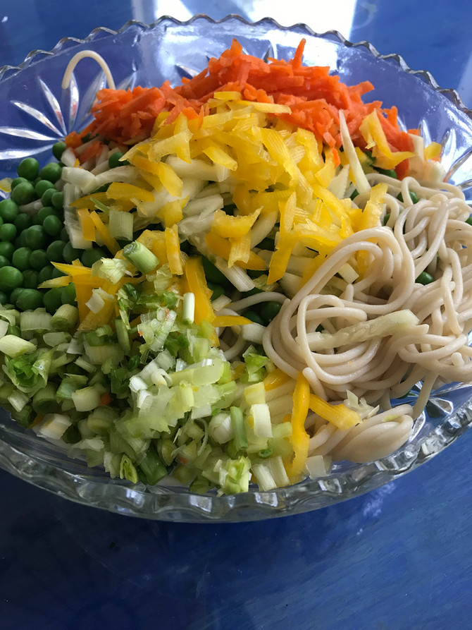 Easy Peasy Peanut Noodles (Or Not)