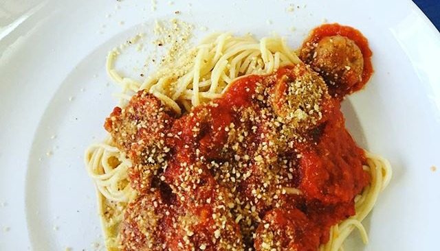 Pasta with Veggie Balls