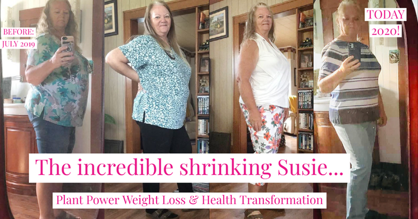 Susie's 1 year weight loss!