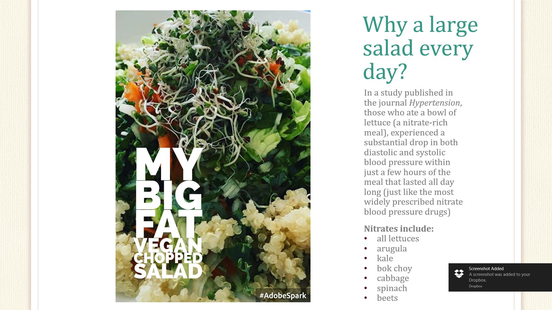 Big Chopped Green Salad