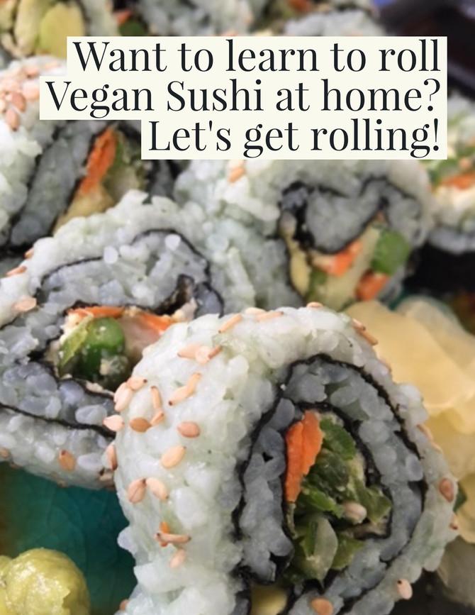 """""""Save Our Seas"""" Vegan Sushi"""