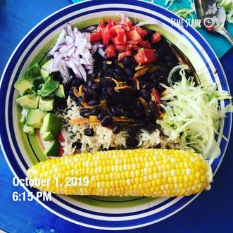 Quick Vegan Dinner:  Oil-Free Rice & Beans Hack