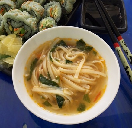 Miso PHO with rice noodles