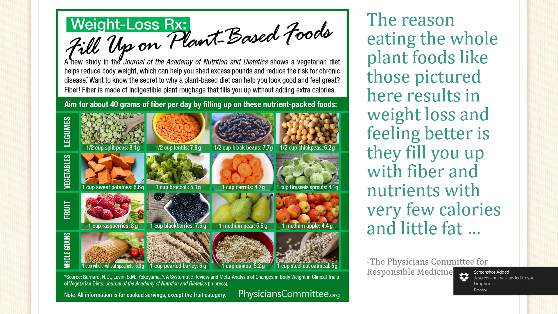 Whole Plant Food Chart
