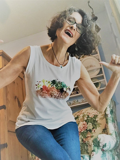 Eat Anything With Roots Vegan Tank