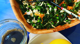 Sweet & Sour Oil-Free Massaged Kale Crunch