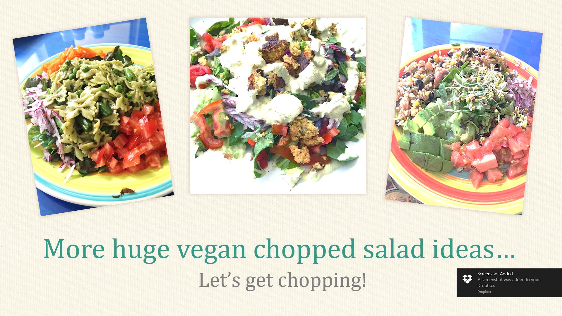 Chopped Salad Ideas