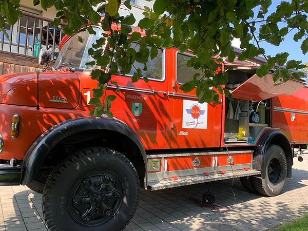 Olga Feuerwehrauto Buchs SG