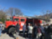 Feuerwehrauto OLGA aus BUCHS SG