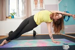 pilates sidebending