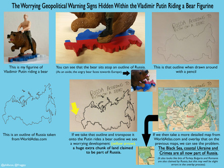 The Worrying Geopolitical Warning Signs Hidden Within the Vladimir Putin Riding a Bear Figurine