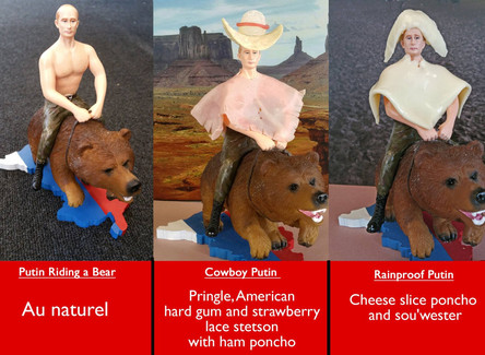 Customising the Putin Riding a Bear Figurine