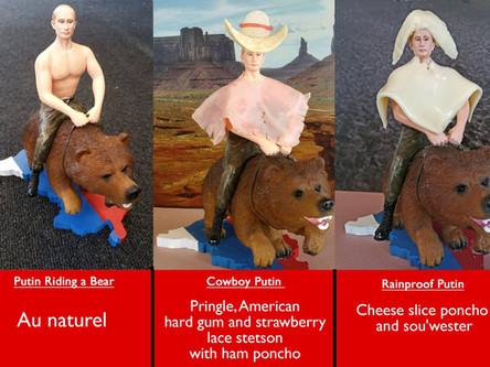 Customising the Putin Riding a Bear Figurine