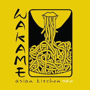 Logo design for wakame