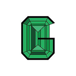 Logo design for G.V.L Gems
