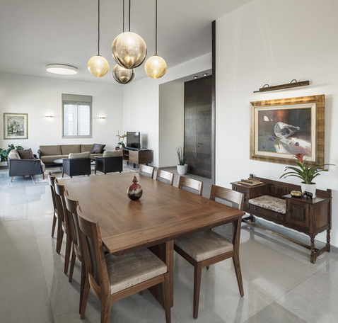 penthouse, dining table