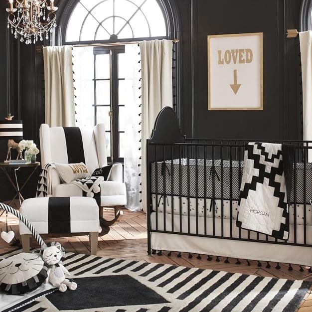 dormitorio bebé negro