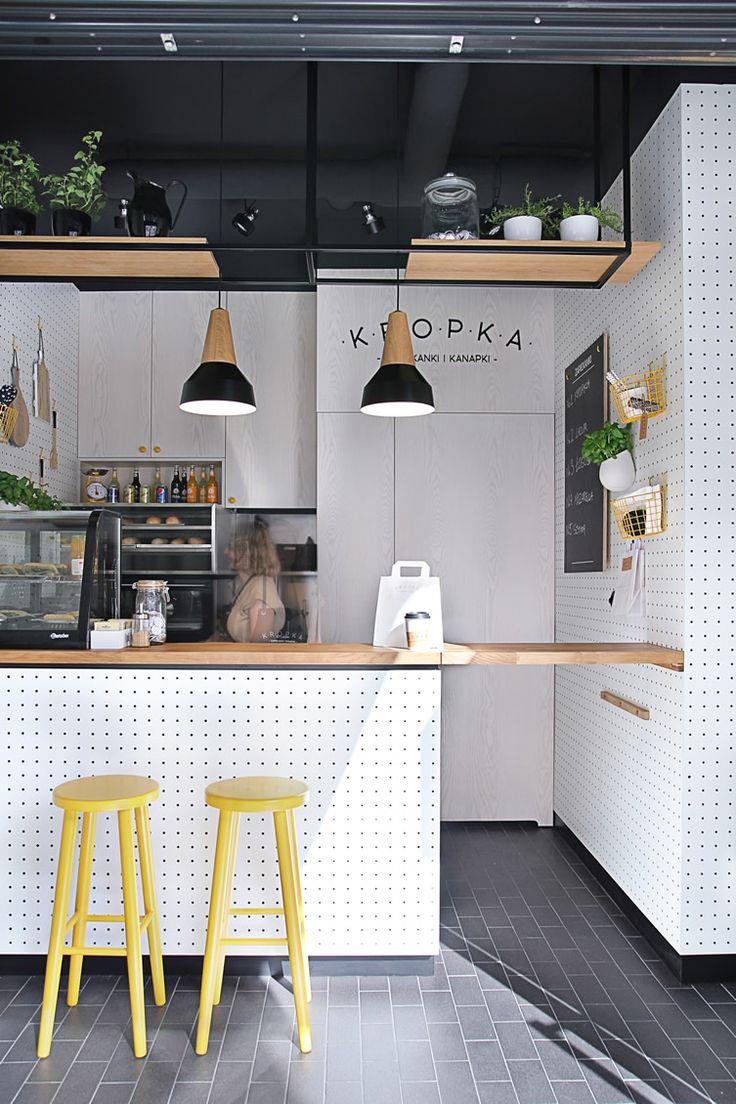 techo negro cocina