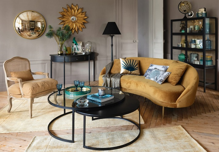 Curva en mobiliario_ Maisons du Monde