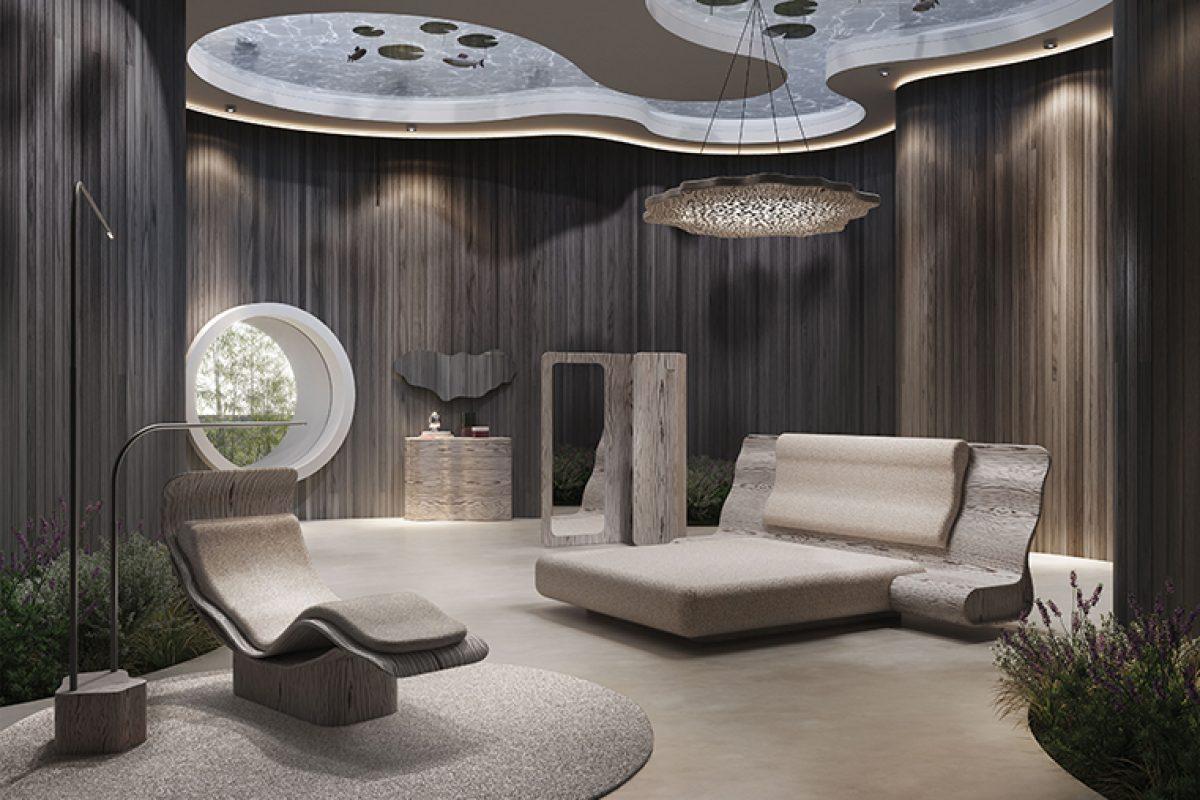 Salone del mobile Milano 2019_Ergo_Natuzzi_futurismo