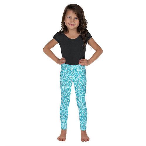 """""""Blue Coral"""" Kid's Leggings"""