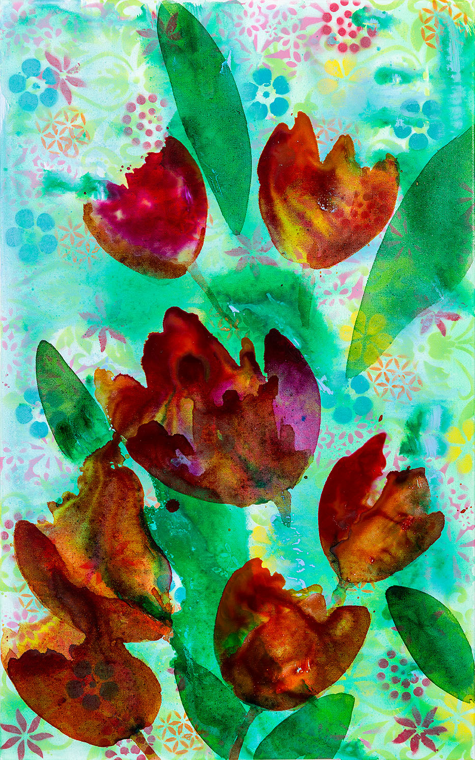 sabine oecking - tulips - 80x50 - 2018
