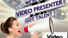 Hi, We are looking for a Video Presenter. Show us you got talent !