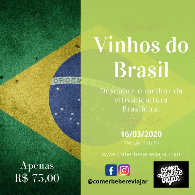 Curso Vinhos do Brasil