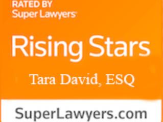 Attorney Tara David selected to 2021 Super Lawyers Florida Rising Stars List