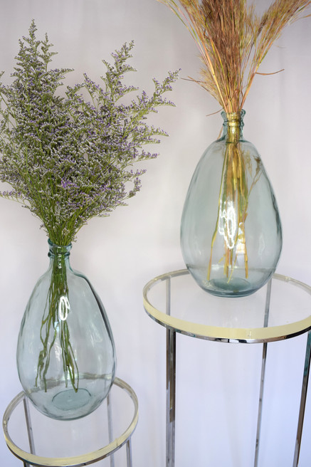 Glass bubble vase rentals