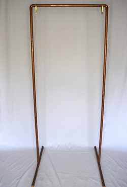 """""""Harlow"""" Copper Sign Stand"""