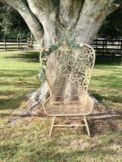 """Frankie"" chair rental"