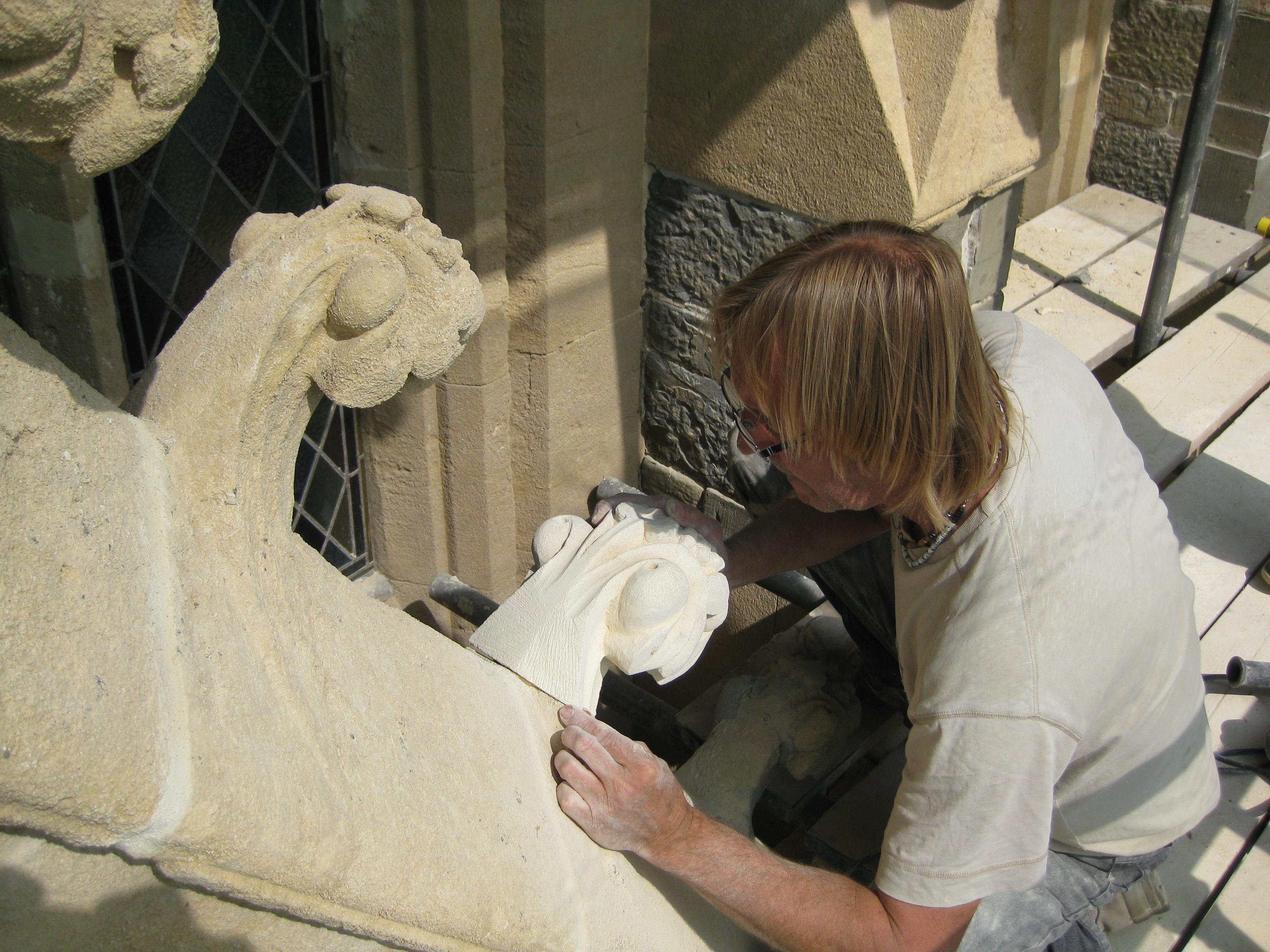 Sandstone restoration - 2013