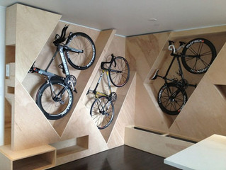 Bike rooms new to apartments