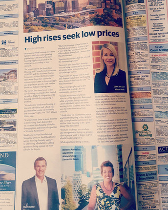 Perth's housing supply falls short