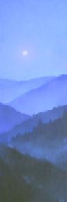 Vertical II - Moontlight 60x20
